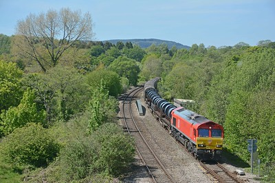 66017 on the afternoon Margam to Llanwern, 6H27