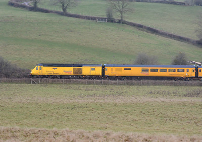 I see NR still call this the New Measurement Train despite it having been around for many years now!