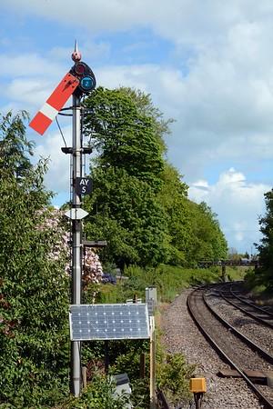 May 19th, Abergavenny Station / Gorsaf Y Fenni