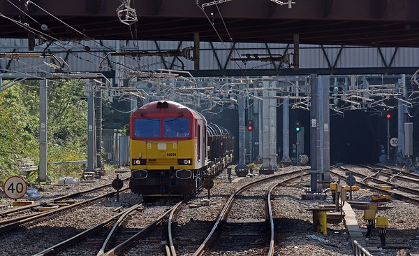 ...closely followed by 60039 Dowlow on 6H27 Margam to Llanwern