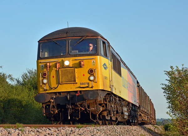 56078 is starting its sixth week on this duty, surely it knows the way blindfold by now?