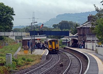 September 10th, Abergavenny Station / Gorsaf Y Fenni