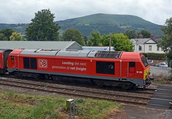 September 9th, Abergavenny Station / Gorsaf Y Fenni