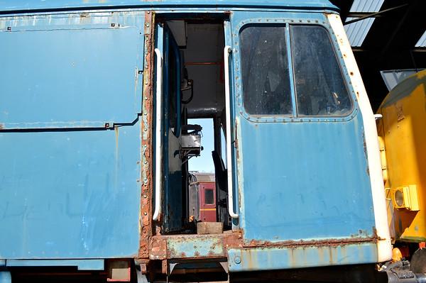 The loco needs mega restoration.