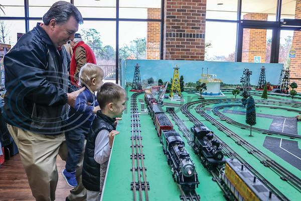 Cotton Belt Train Show