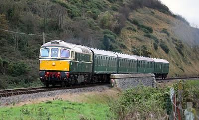 33012 'LT Jenny Lewis RN' Corfe Castle 1440 Swanage - Norden 15/11/14