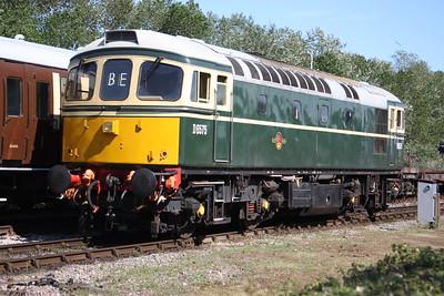 33057 runs round at Minehead 25/7/15
