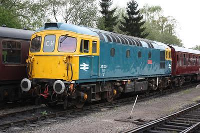 33102 Cheddleton 1625 Ipstones - Froghall 3/5/14