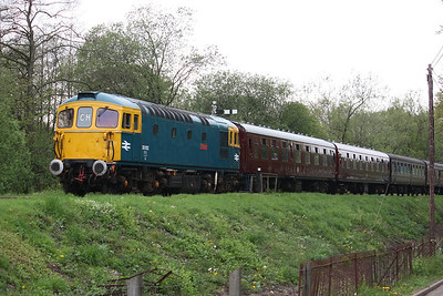 33102 approaches Cheddleton 1625 Ipstones - Froghall 3/5/14