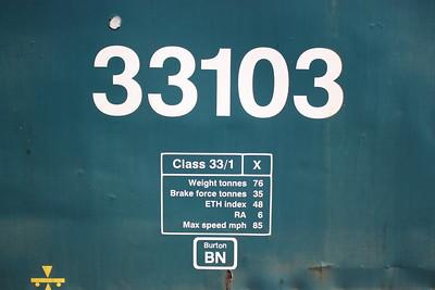 33103 - now allocated to Burton!