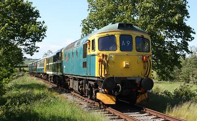 33103 & 31414 depart Shottle with 1615 Wirksworth - Duffield 6/6/15