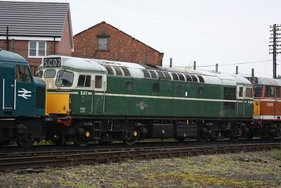 Class 27 D5401 at Loughborough 25/4/14