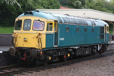 With numbers added for the first time since 2008, 33116 poses at Leicester North 25/4/14