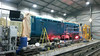 401 during her repaint, December 2013..<br /> Photo & painting by Andy McLean.