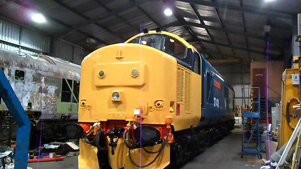 VIDEO.<br /> 401 start up prior to its test run.<br /> 27th December 2013.