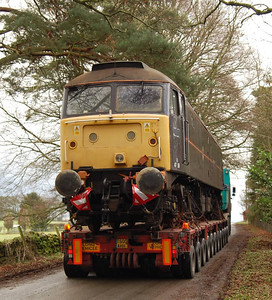 A view of the rear of the load, 22nd December 2011