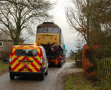 And with the support vehicle as well, 22nd December 2011