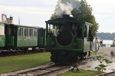 2 september 2011. Chiemsee Bahn, Prien,