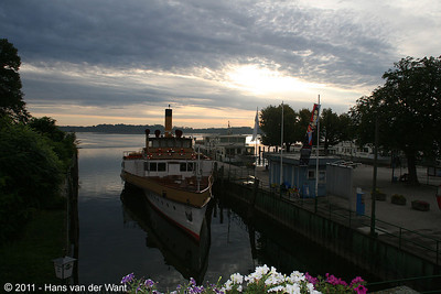 2 september 2011, Prien, Harbour.