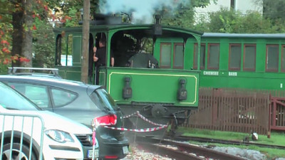 2 september 2011. Chiemsee Bahn, Prien, VIDEO