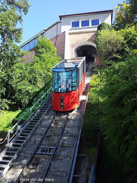 Schlossberg Graz, Funicular.