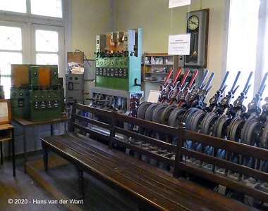 Eisenbahnmuseum Weissenstein.