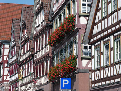 Historic building in Calw.