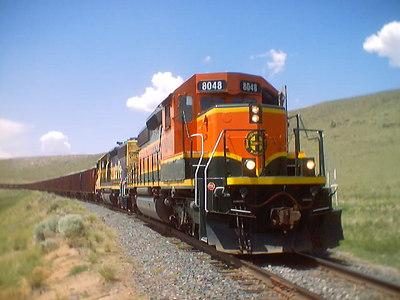 BNSF8048 fresh repaint