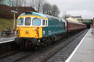33109 'Captain Bill Smith RNR' Bury 1245 Rawtenstall - Heywood 15/2/14