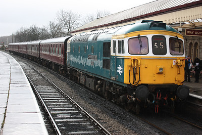 33109 'Captain Bill Smith RNR' Ramsbottom 1130 Heywood - Rawtenstall 15/2/14