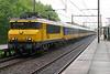 1744 heads a southbound Intercity working through Dordrecht Zuid. 10th June 2004.