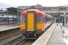 2411 is seen arriving at Guildford 26 November 2006. Diverted up the Guildford New line due to line closure at Woking, she will rejoin the main line at Hampton Court Jctn & then on to London Waterloo.