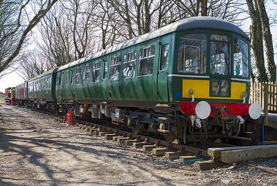 Class 103 DMU W50413/56169. Helston Railway, Propsidnick Halt. Wednesday 3rd April 2013.