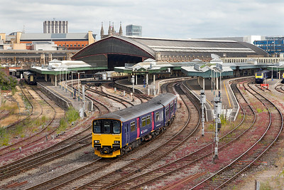 150122 forming 2Y12 10.12 Bristol Parkway to Weston-super-Mare departs from Bristol Temple Meads. Wednesday 9th July 2014.