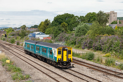 150256 forms 2G56 09.17 Maesteg to Cheltenham Spa passing Magor. Saturday 12th Junly 2014.