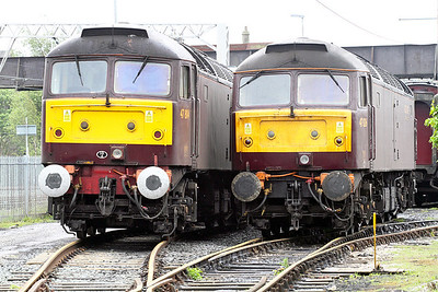 47804 & 47826 WCR Carnforth. 17/05/2011