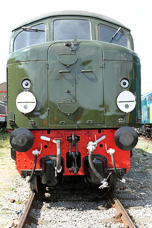 Front end detail of Clas 44 D4. MRC. 20/05/2011