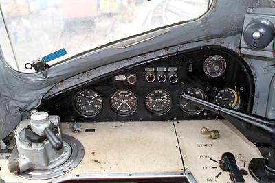 Driving controls Class 44 D4. 20/05/2011