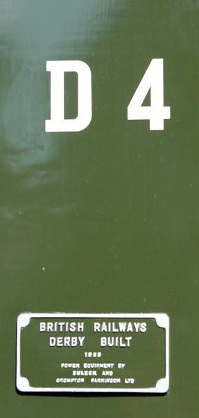Worksplate D4. 20/05/2011
