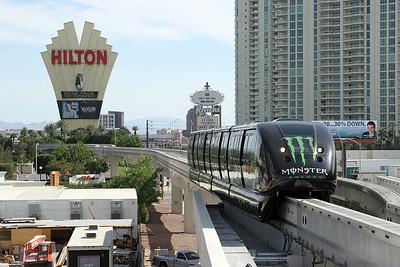 Las Vegas monorail. 03/05/2007.
