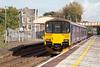 150106 forming 2Y16 12.12 Bristol Parkway to Weston-super-Mare departs Yatton. Thursday 17th October 2013.