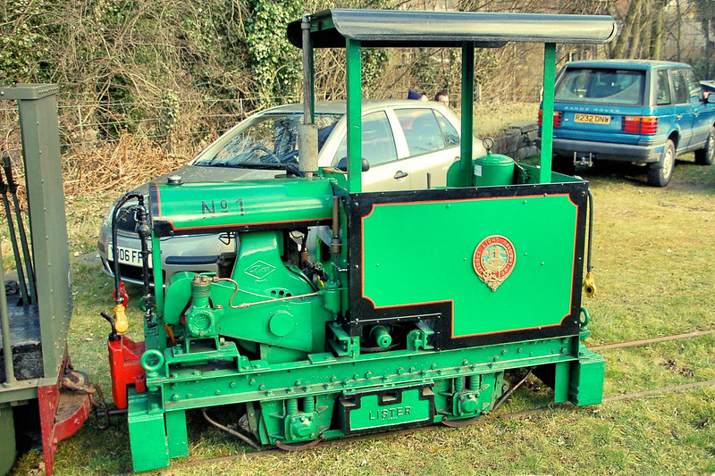20449 (1) 'Loweco' Lister 4wDM - Abbey Light Railway 14.03.10  Mick Tick