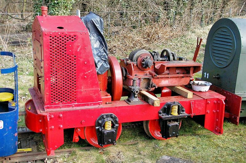 5926 (7) Orenstein & Koppel  4wDM - Abbey Light Railway 13.03.10  Mick Tick