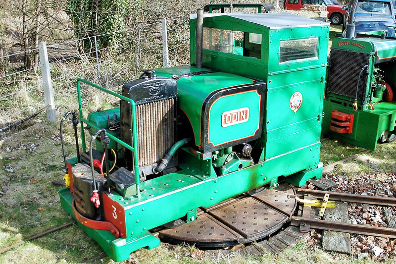 5859 (41) 'Odin' Motor Rail 4wDM - Abbey Light Railway 14.03.10  Mick Tick