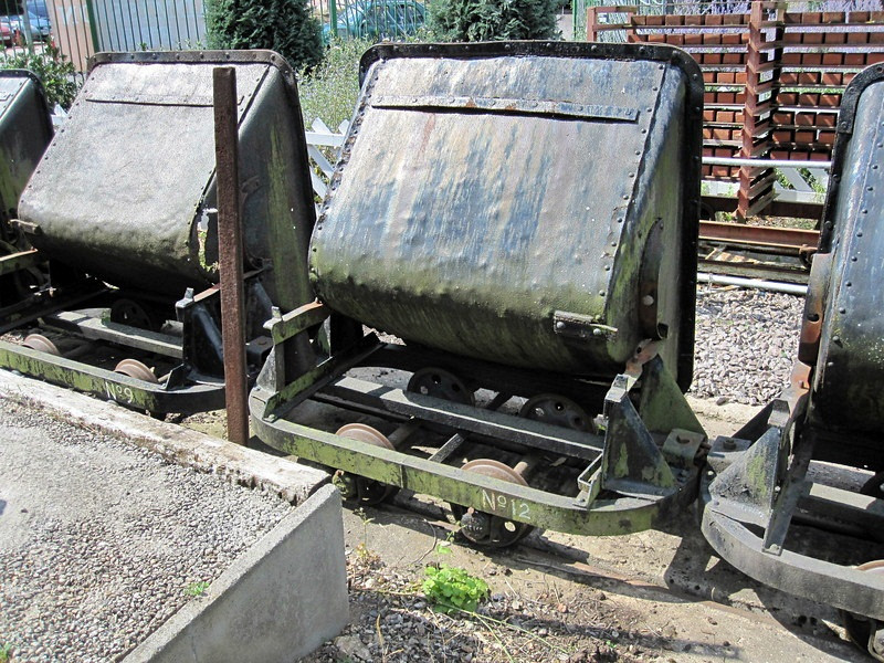 12 Side Tipping Skip Abbey Pumping Station