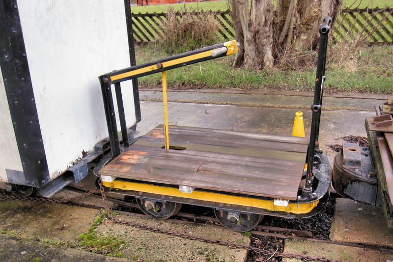 No No. Pump Trolley Flat - Abbey Pumping Station 17.0313  Kev Adlam