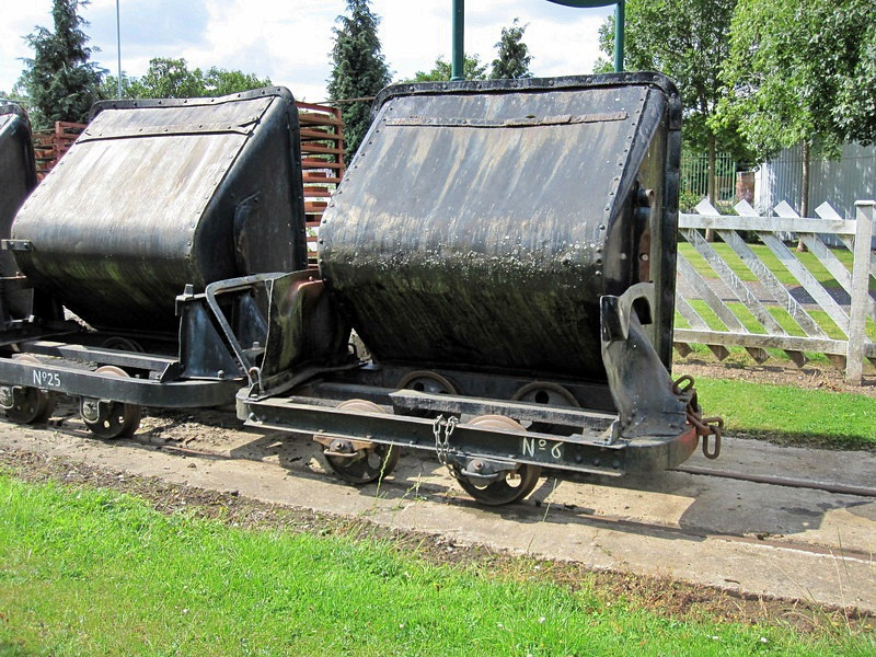 6 Side Tipping Skip Abbey Pumping Station