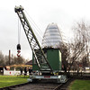 No No. Broad Gauge Electric Crane - Abbey Pumping Station  Kev Adlam