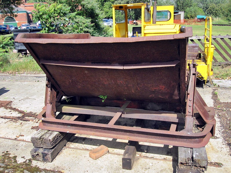 28 Steel Side Tipping Skip - Abbey Pumping Station