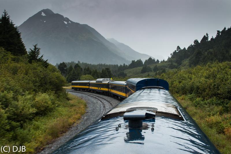 Alaska Railroad Coastal Classic, Seward to Anchorage, September 3, 2017.